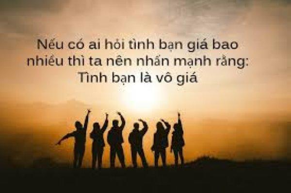 Tình bạn là vô giá - Status hay - Muarehon.vn