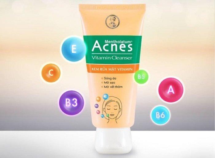 review sua rua mat acnes co tot khong 10