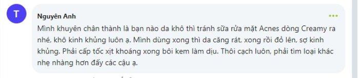 review sua rua mat acnes co tot khong 4